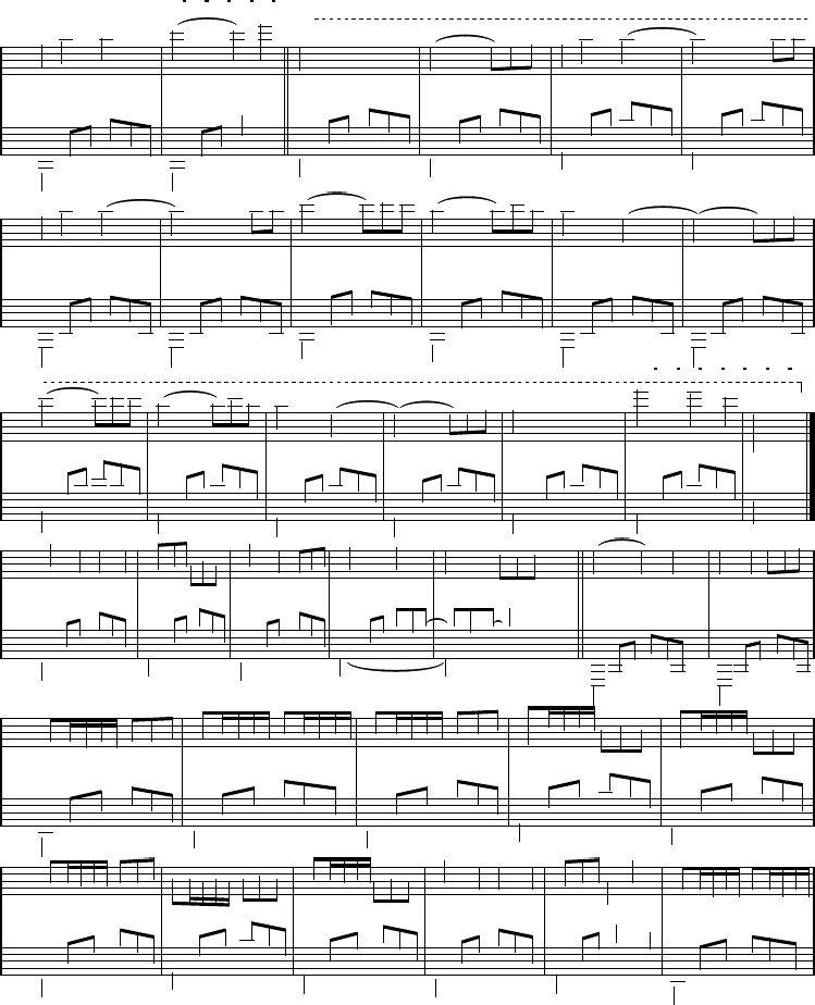 Piano Song My Michael Ortega