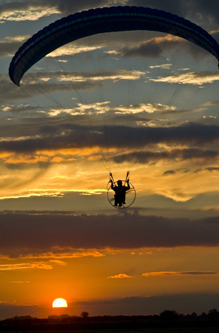 Someone please go paramotoring with me