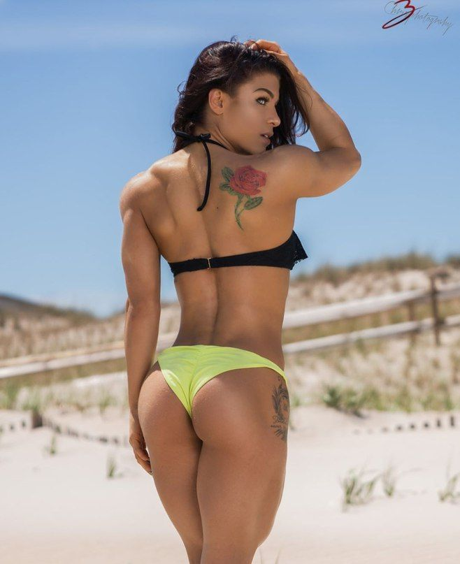 Fitness bikini thong models