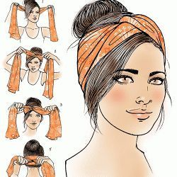 Turban how-to for Latina Magazine #lefashion