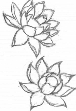 flowers flower drawing art doodle by grounded1 design
