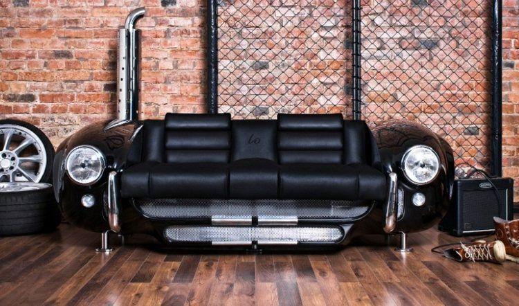 DIY Trend Upcycling Sofa alte Auto Teile