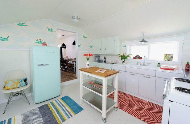 Retro Küche Design Bilder, um Ihnen Helfen, Schmücken einen Schönen - bilder in der küche