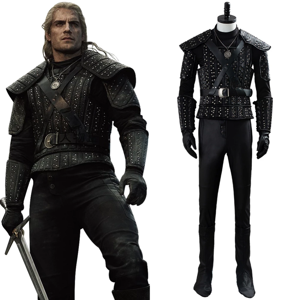 The Witcher Tv Series Henry Cavill Geralt Cosplay Costume Cosplaysky Fr Combishort Cosplay Costume Cosplay
