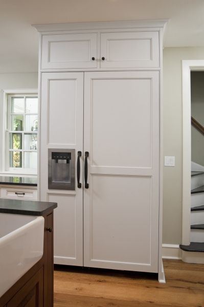 View Of The Meile Refrigerator And Freezer Which Features