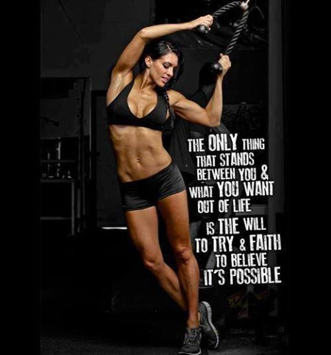 Female Fitness Motivation 0720 06 Motivate Inspire Gym Quotes Life Quotes Workout Motivation Women Fitness Inspiration Body Fitness Motivation