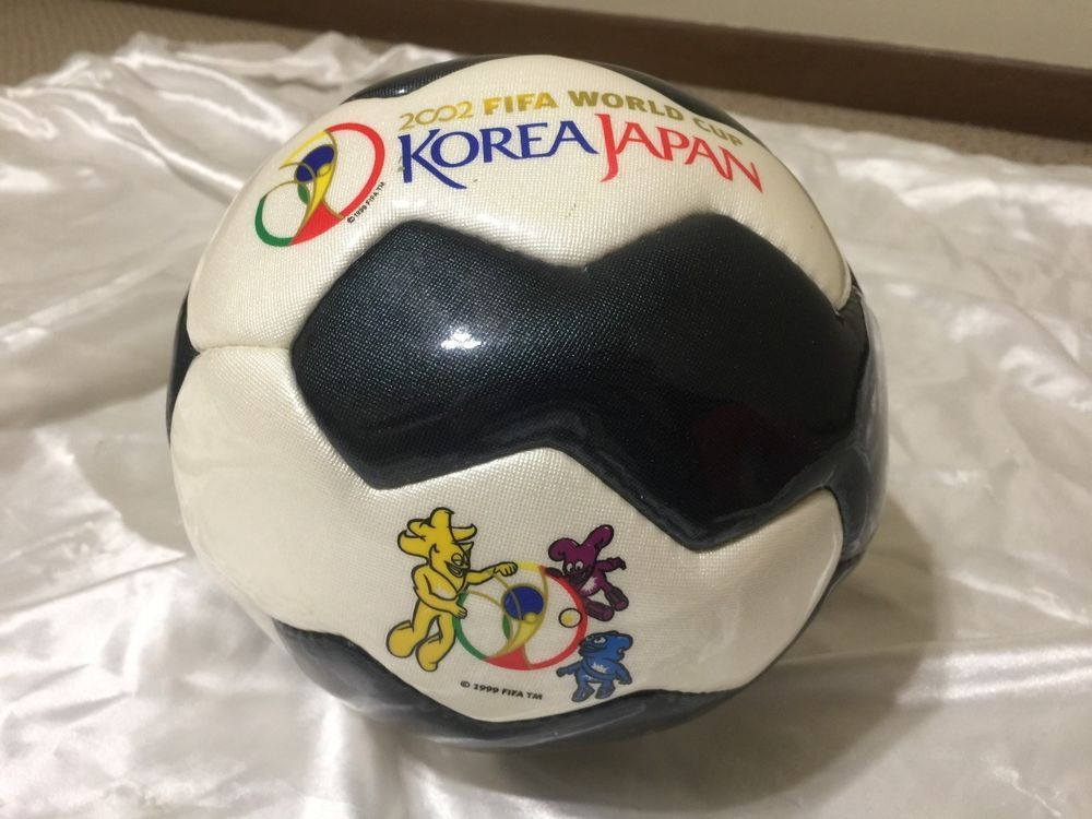 Vintage 2002 Fifa World Cup Korea Japan Souvenir Collectible Soccer Ball Ebay