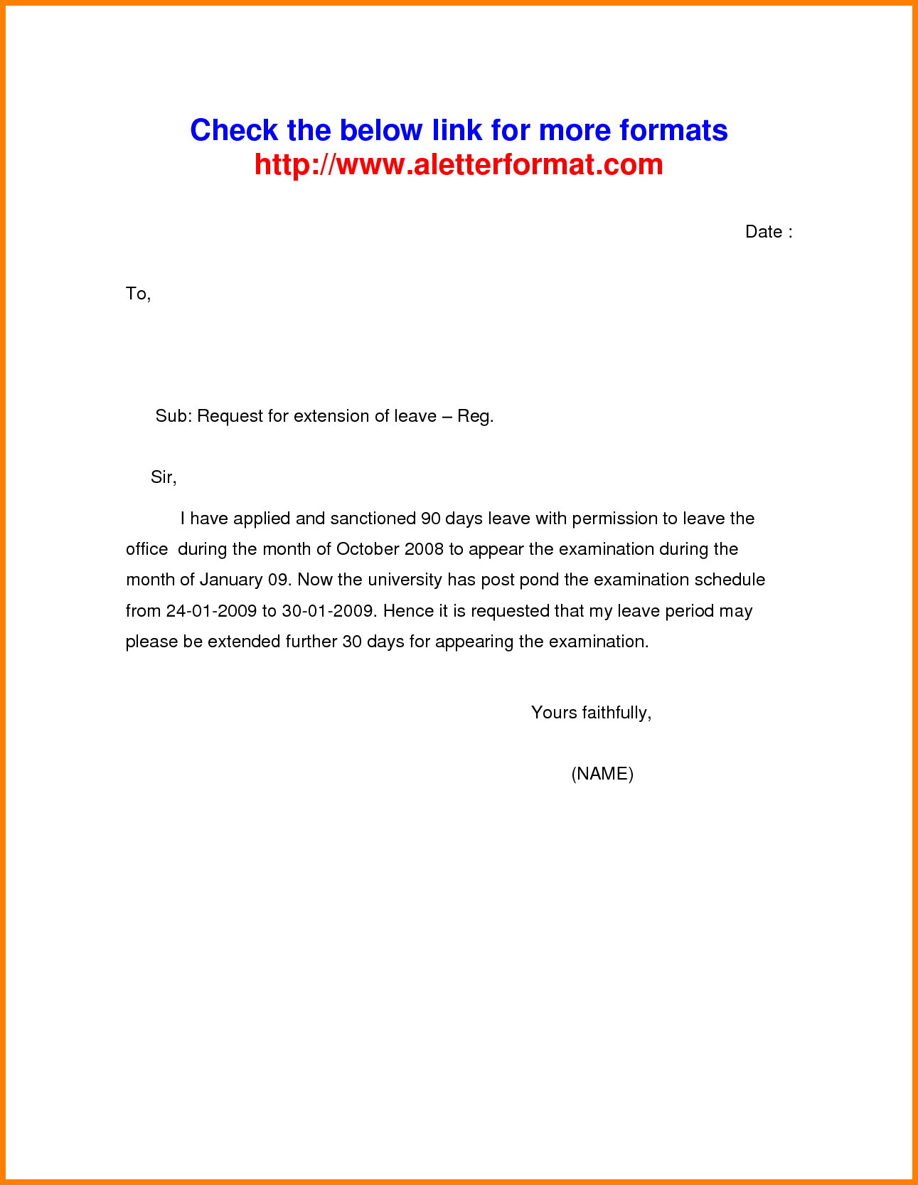 Application Letter For Leave Job Uncategorized Employee Maternity