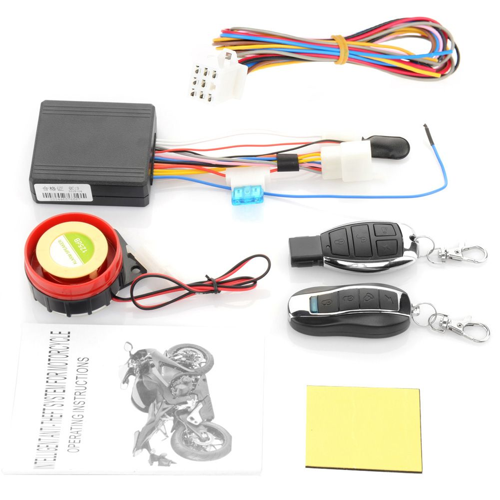 Best Price 12v Motorcycle Bike Anti Theft Security Alarm System