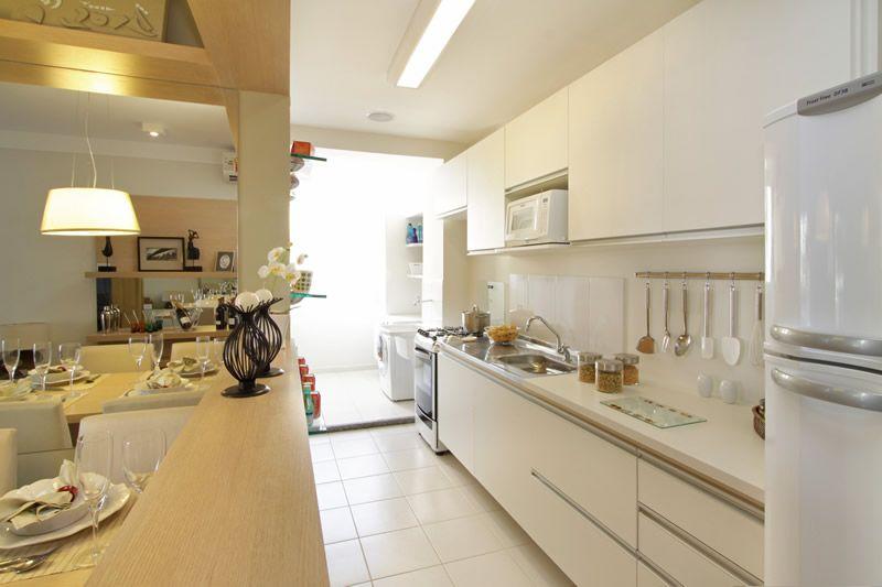 Apartamento pequeno decorado cozinha americana pesquisa for Apartamentos decorados pequenos
