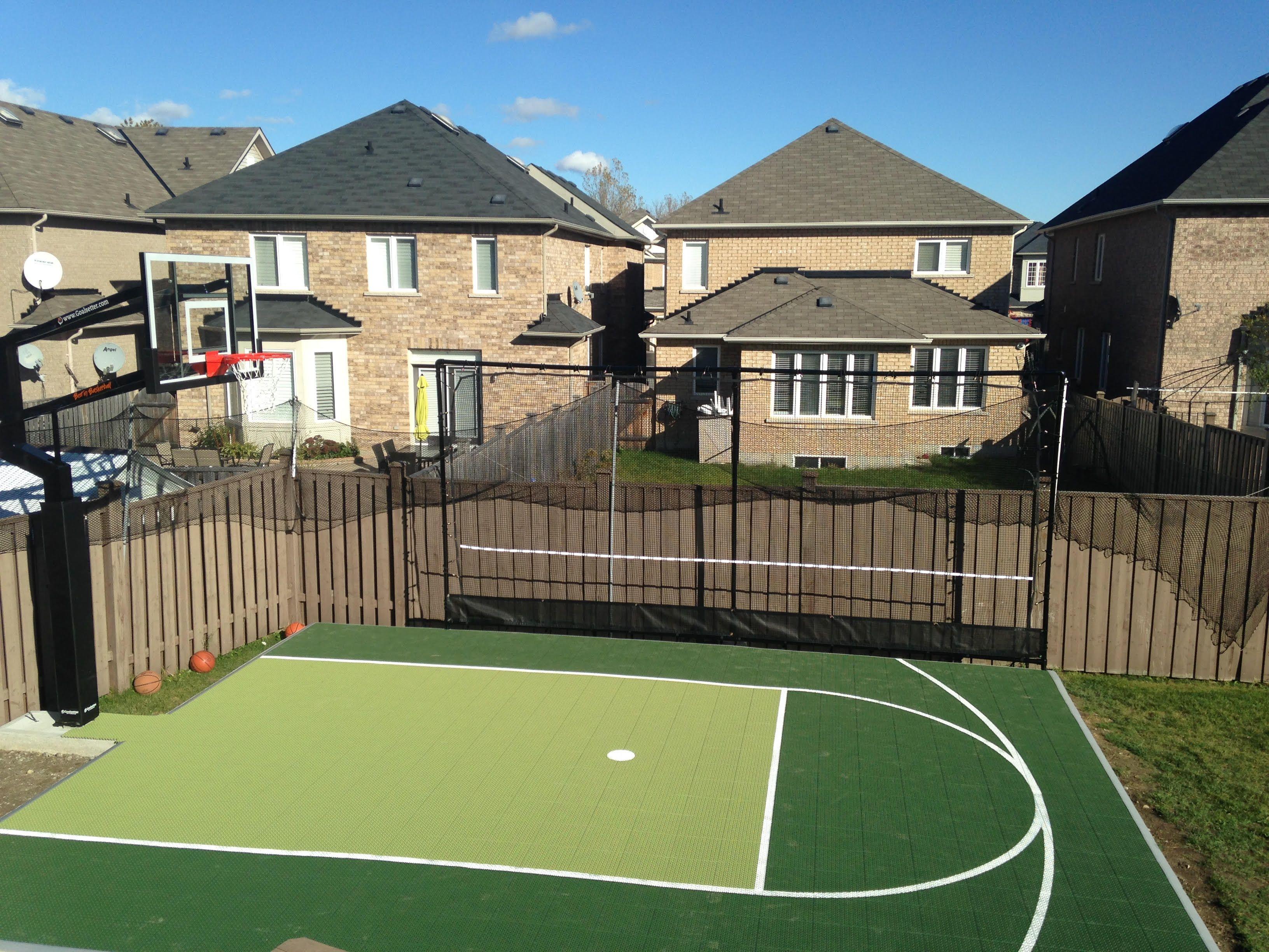 20 X 25 Basketball Court Snapsports Duracourt Surface