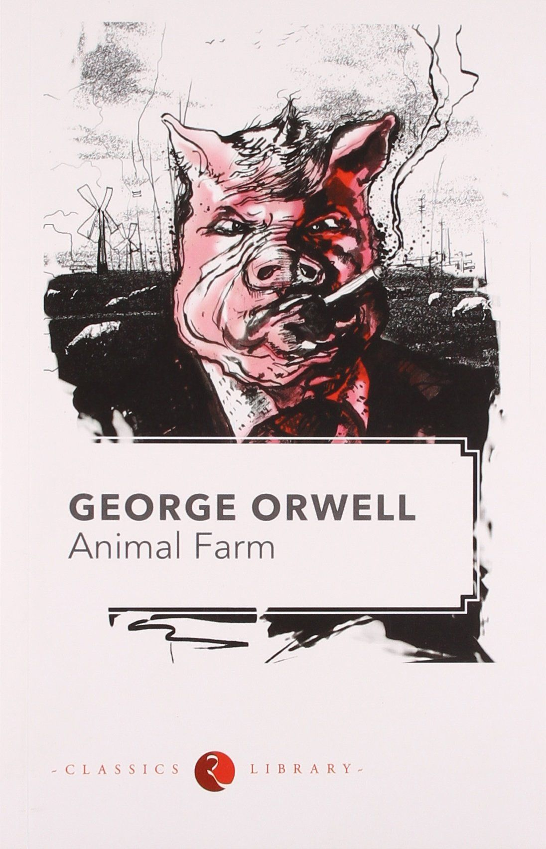 a mock of communism in animal farm by george orwell Animal farm by george orwell  the form of animal farm orwell took the short animal fable and  owns the farm communism invented by karl.