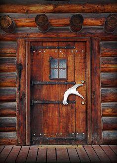 Alaskan Door | Doors, Cabin and Alaskan cabins
