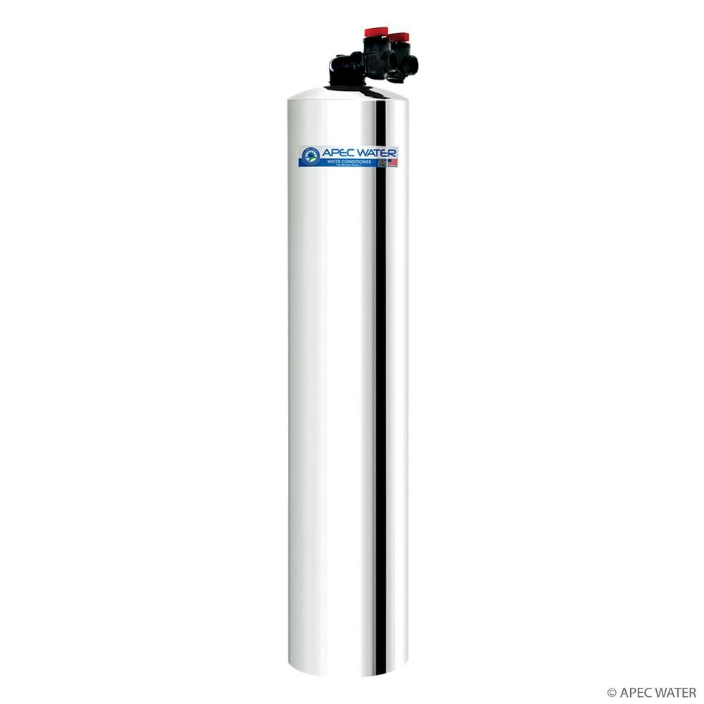 Apec Water Systems Premium 15 Gpm Whole House Water Filtration System With Pre Filter Up To 1 000k Gal Green Carbon 15 In 2020 Water Filtration System Whole House Water Filter Water Filtration