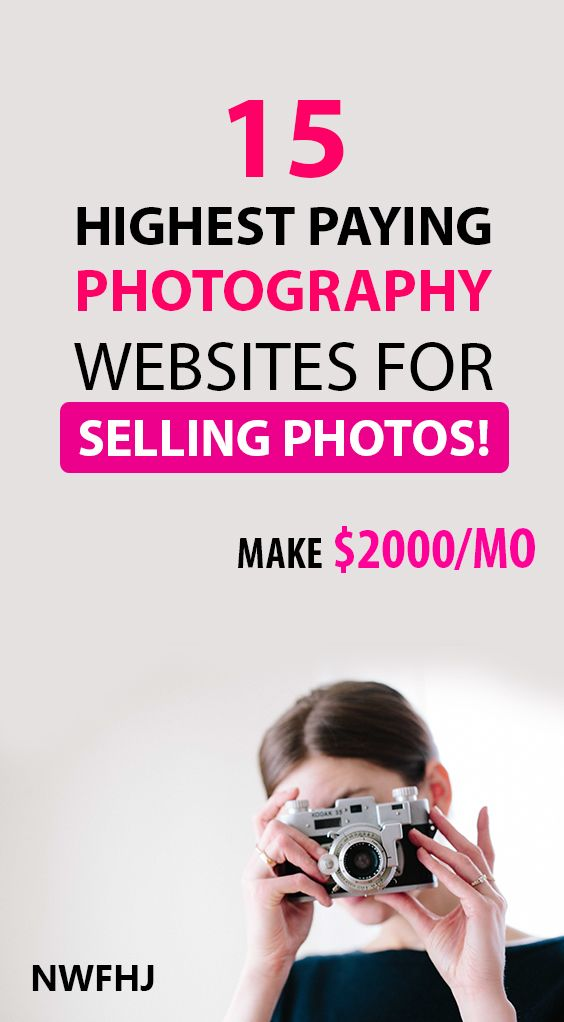 15 Legit Places For Selling Photos Online For Money (Up To ...