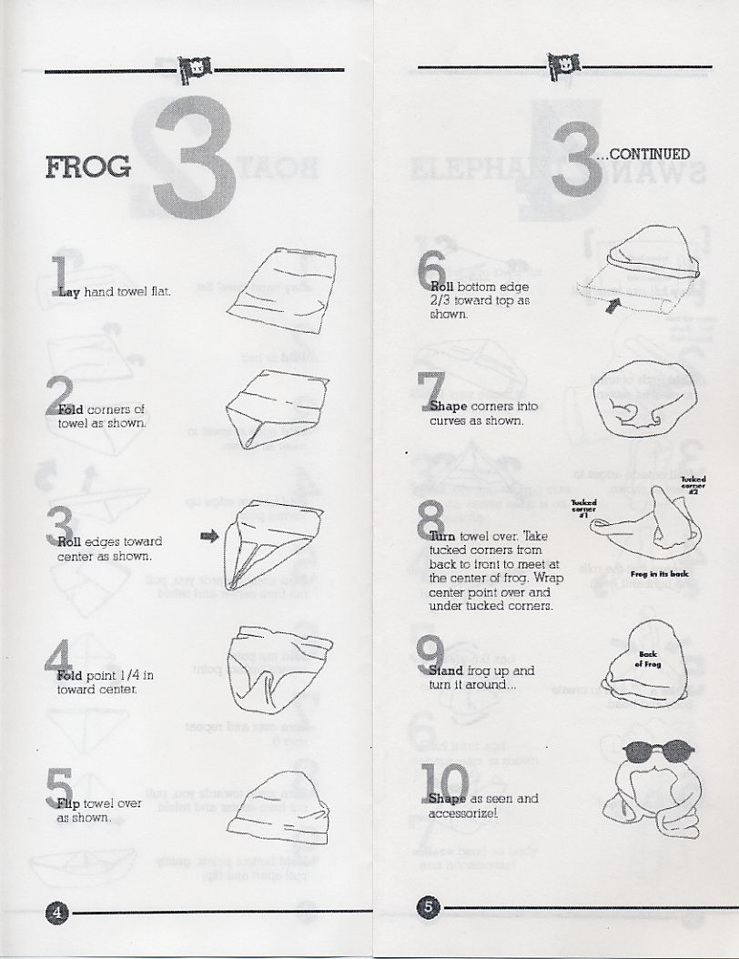 napkin folding instructions napkinstowels napkintowel
