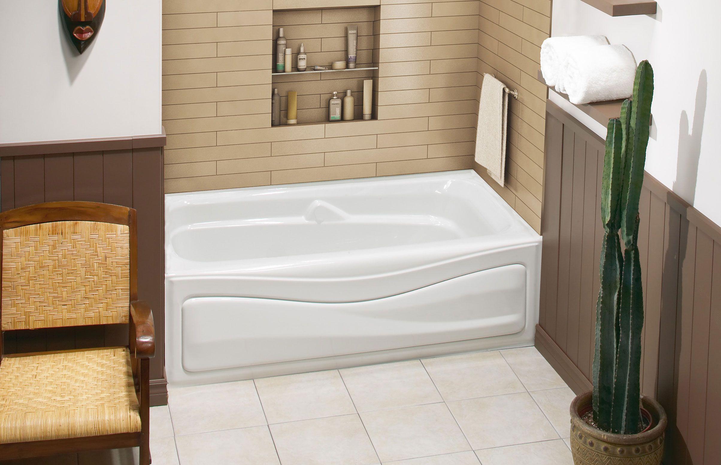 Corinthia™ II Alcove Bathtub - MAAX Bath Inc. | Bathroom | Pinterest ...