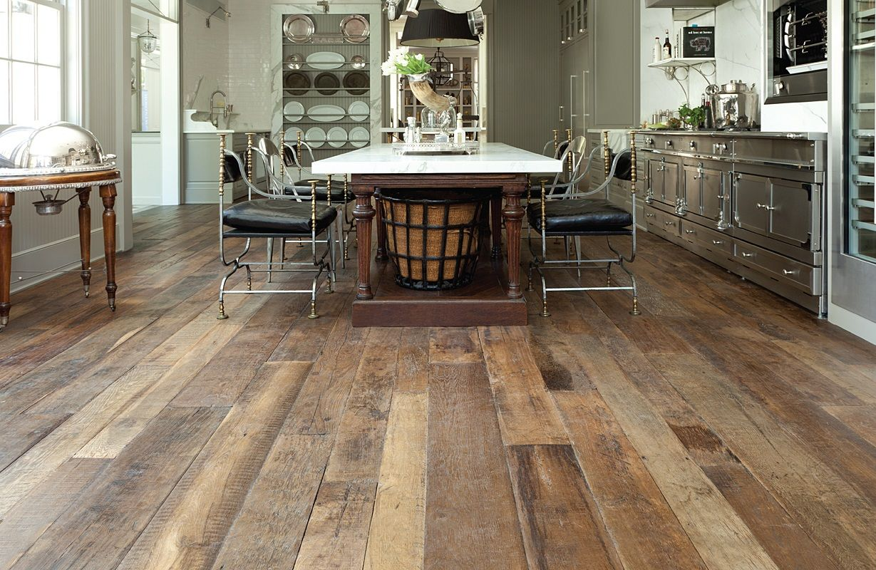 Antique French Oak Pulled From Actual Wood Flooring
