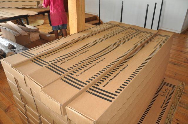Kit Kurly, vous recvrez vos claustras protégés dans leur emballage - Comment Monter Une Terrasse En Bois