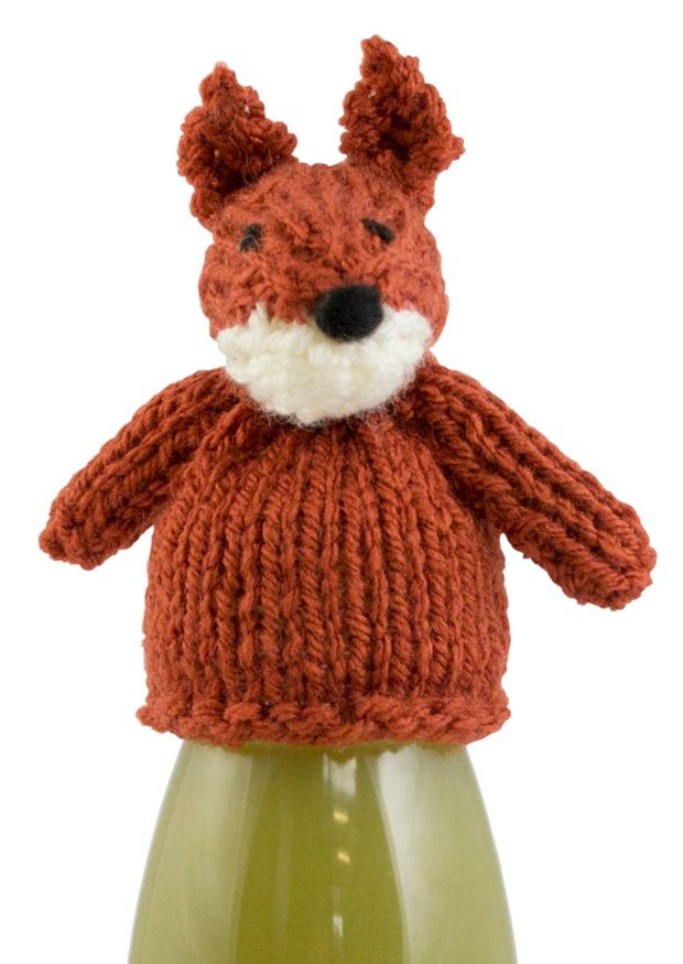 The Fox by Val Pierce. Free knitting pattern for the ...