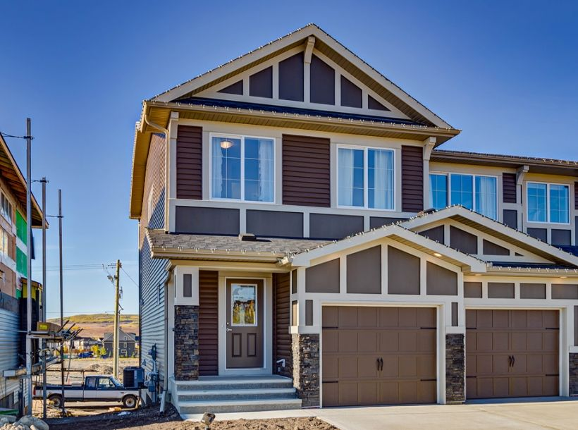 Love The Color Of This House Family Home Two Story Home House Exterior Inspiration Jackson Exterior From Excel Show Home House Exterior Modern Exterior