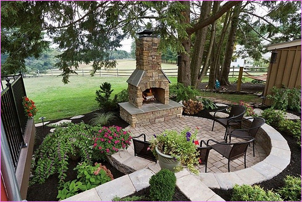25 Great Stone Patio Ideas For Your Home In 2019 Amazing Patios