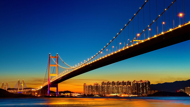 Golden Gate Bridge Night San Francisco Golden Gate Bridge San Francisco Wallpaper Golden Gate