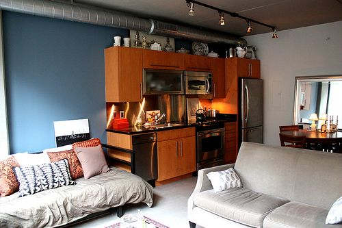 Eclectic Studio Small Loft Apartments