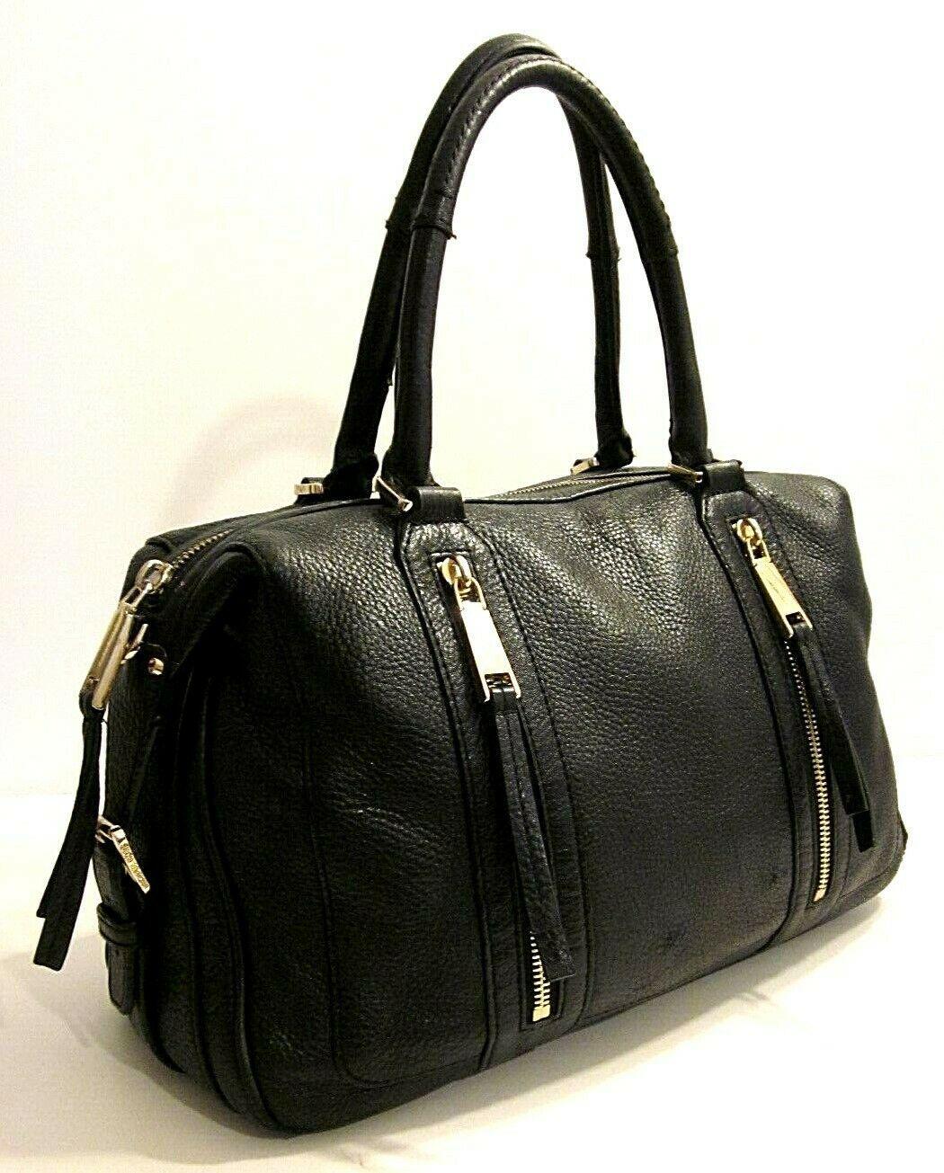 7c664d7a299d Michael Kors Black Genuine Leather Satchel Shoulder Bag Purse (briefcase)  #fashion #leatherbag
