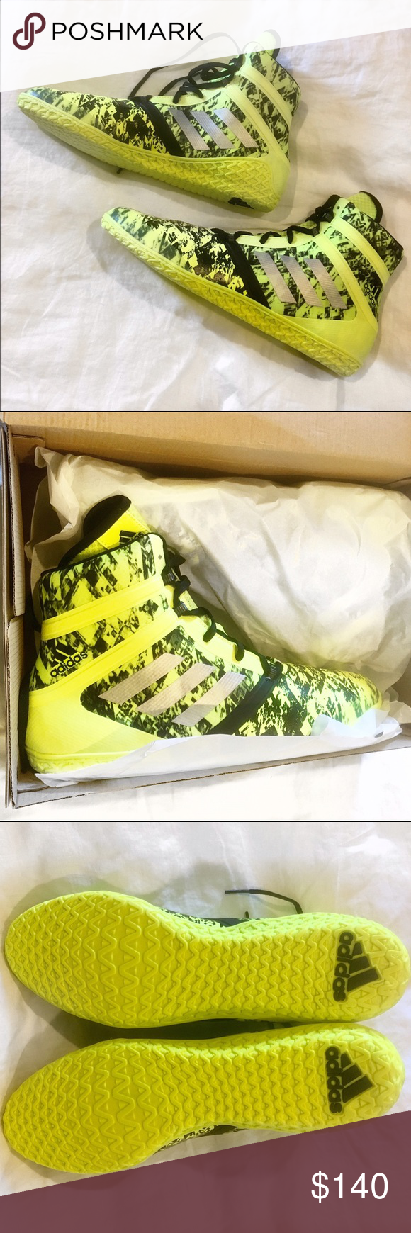 new style 75a31 03455 Adidas Flying Impact boxing shoes Adidas impact boxing shoes 13 solar  yellowblack. Size 13, in boxing shoes you need to size up so I recommend  being a ...