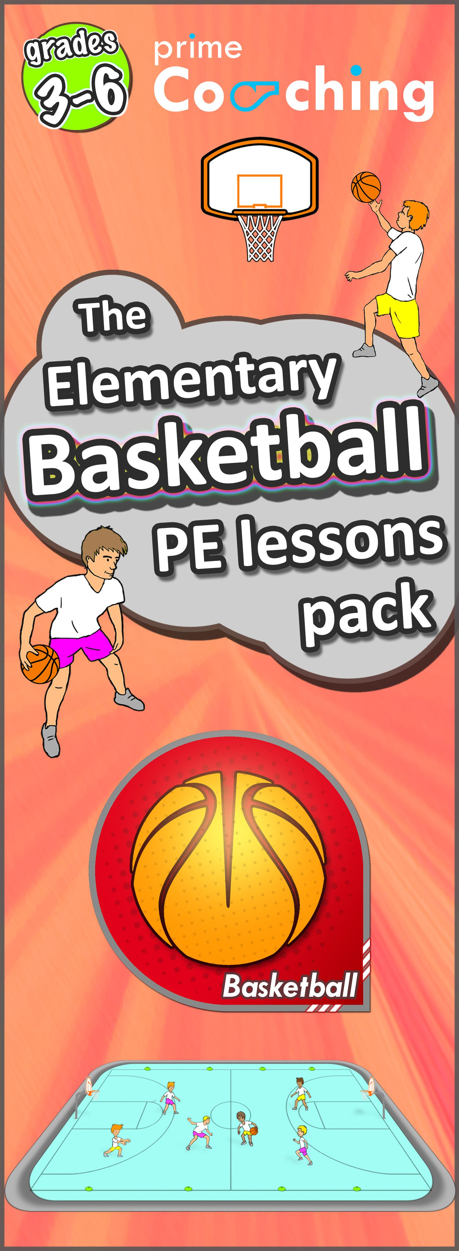 Teaching Basketball We Ve Got The Best Lessons Games Skill And Drills To Get Your Kids At School Develop Pe Lessons Elementary Health And Physical Education