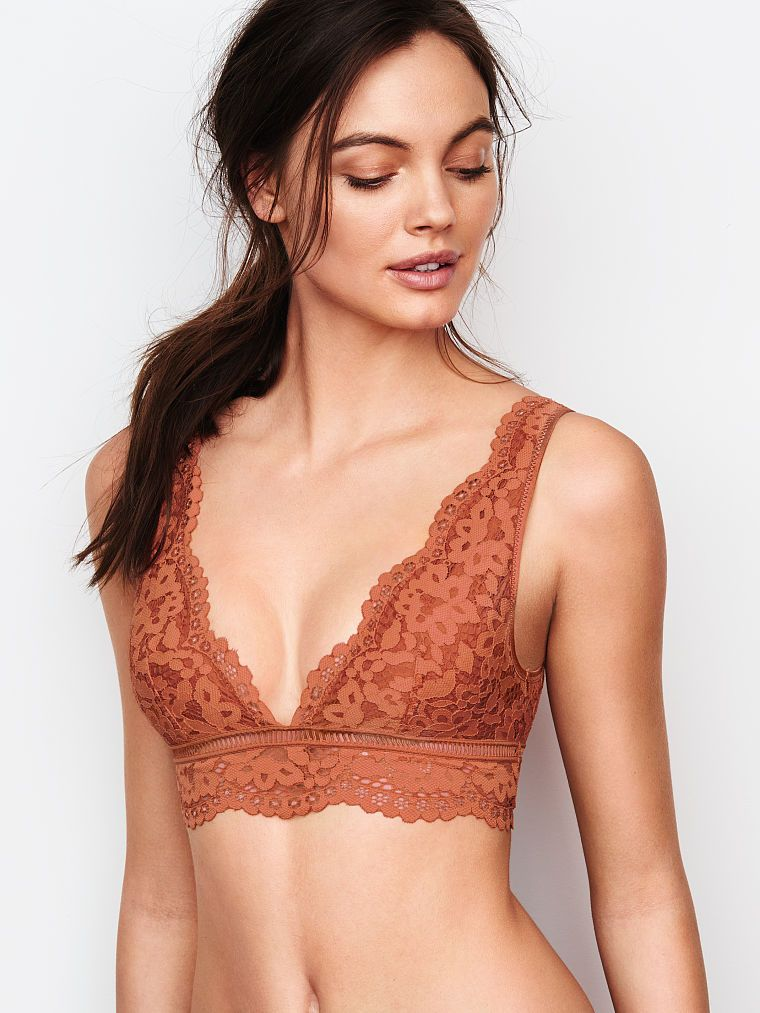 Deep V Crop - The Bralette Collection - Victoria s Secret  bd832f697718