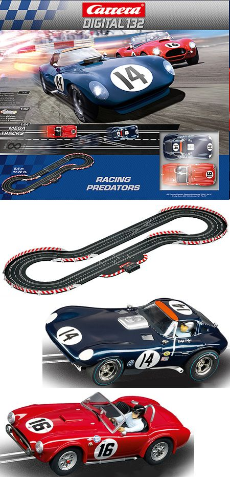 carrera digital racing predators set w 1 32 14 cheetah cobra rh pinterest com