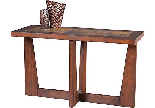 Miraculous Brad Brown Sofa Table Hallway Table Furniture Sofa Spiritservingveterans Wood Chair Design Ideas Spiritservingveteransorg
