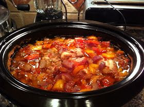 Pots, Pans, Pins and Prayers: Crock Pot Fiesta Chicken