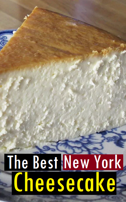 The Best New York Cheesecake Recipe #cheesecakerecipes
