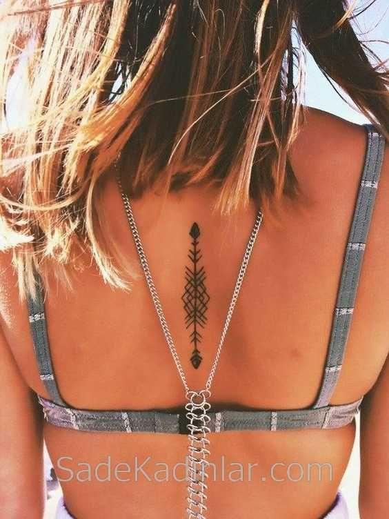 Small Tattoo Models Tattoo Geometric Shaped Back Tattoos - Small Tattoo Models Tattoo Geometric Sh