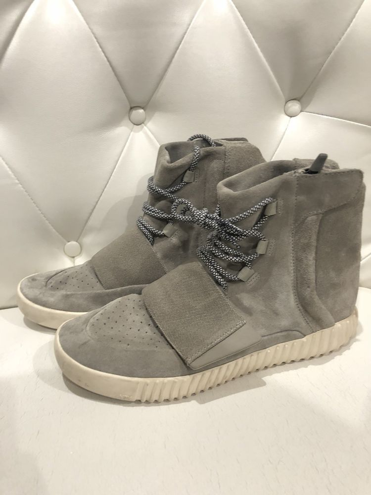 low priced 60cbe bd9ed Adidas Yeezy 750 Boost OG Kanye West Light Brown Carbon Grey ...