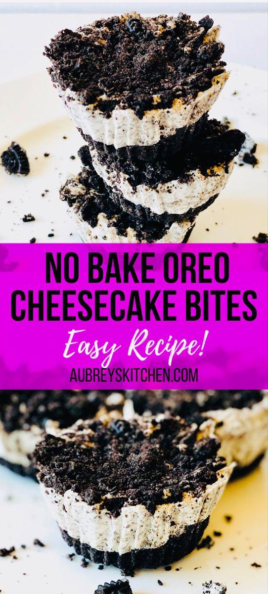 Oreo Cheesecake Bites Recipe Bbq Desserts Bbq Dessert Recipes Oreo Cheesecake Bites
