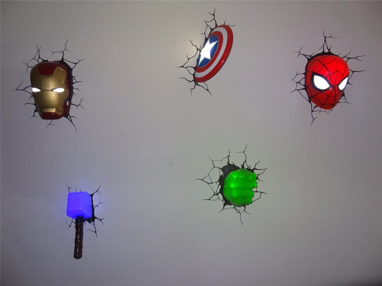 Marvel 3D Wall Art Nightlight (Target)