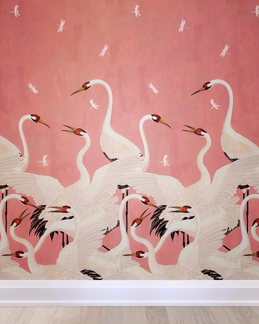Gucci in Pink. Love installing vibrant and whimsical