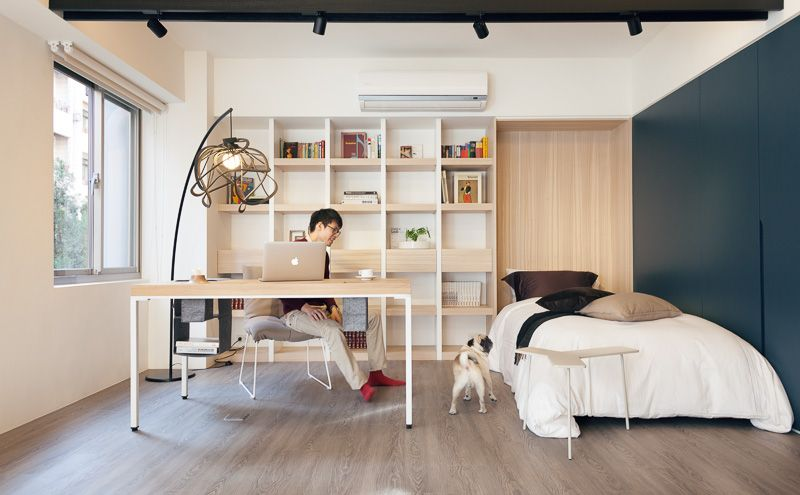 Small But Airy Taiwan Apartment  Bedrooms Apartments And Spaces Pleasing Home-Designing.com Bedroom Design Decoration