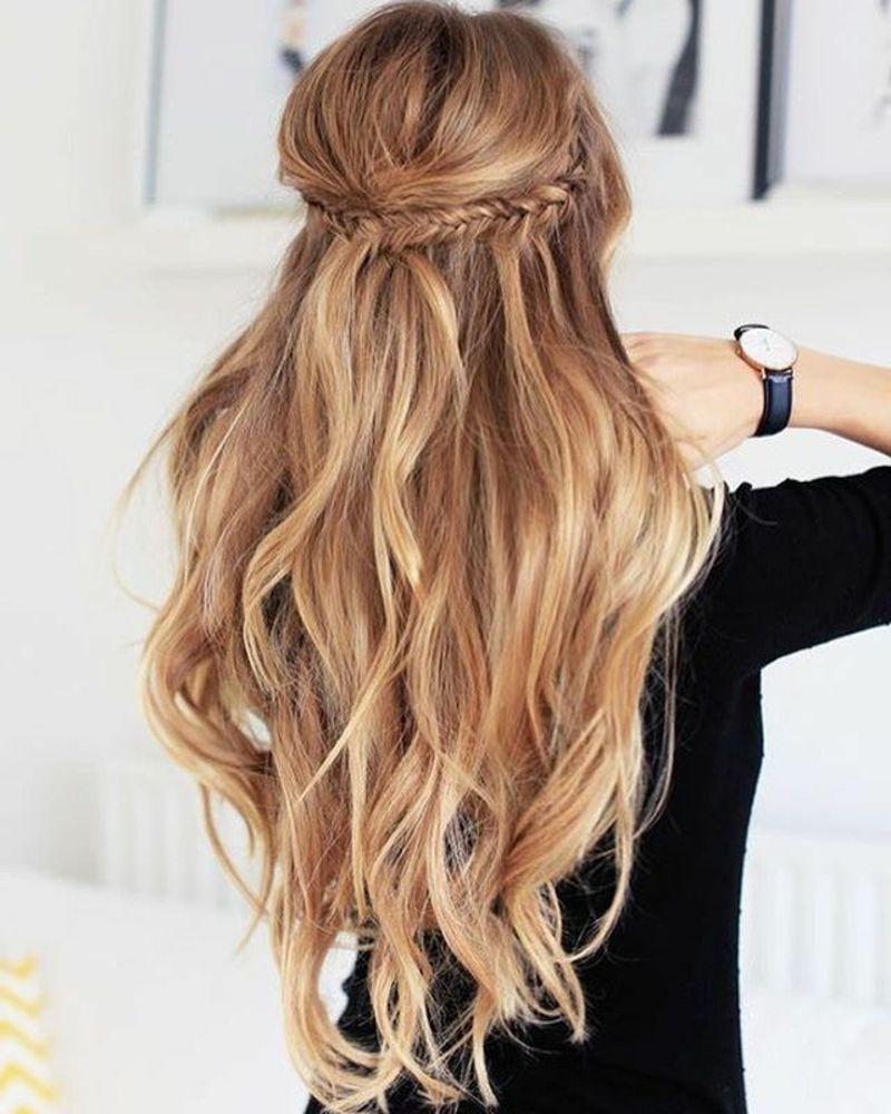Frisuren Für Lange Haare Moderne Styling Ideen Und Haarfarben