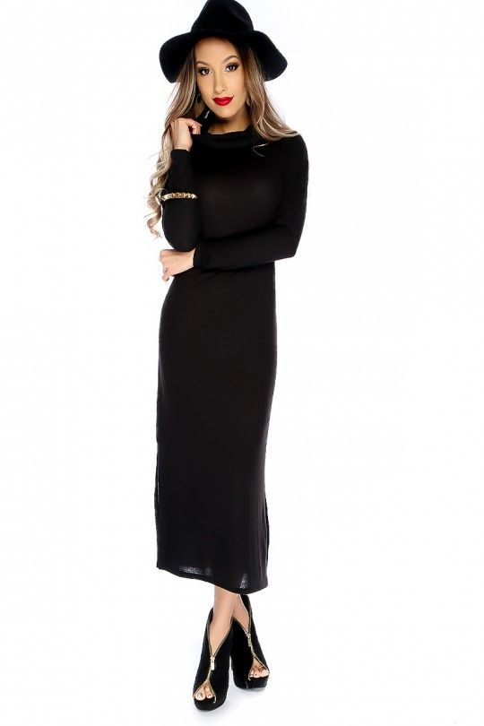 Turtle Neck Casual Teen Dresses