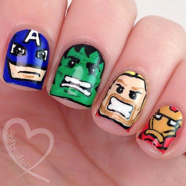 Instagram media cdbnails143 - super heroes lego marvel avengers ...