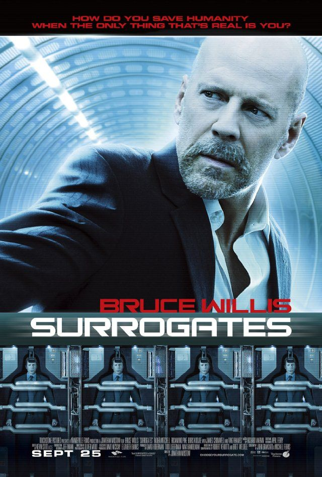 Surrogates ( 2009 )  Action / Sci-Fi / Thriller  ★★★☆☆