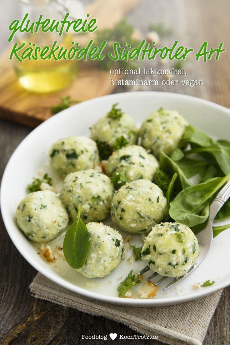 Glutenfreie Käseknödel – Südtiroler Art – KochTrotz | kreative Rezepte