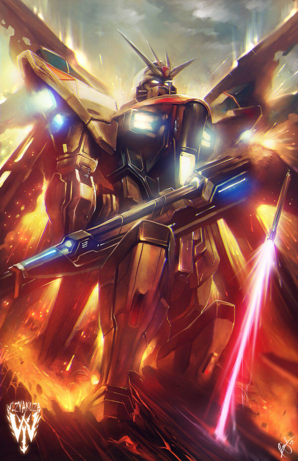 Strike Freedom Gundam Gundam Gundam Wallpapers Gundam Art