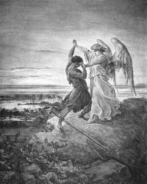 Резултат с изображение за jacob wrestles with god