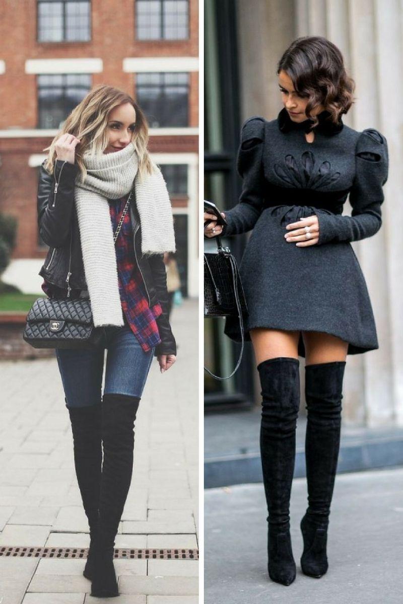 Stiefel Street Damenbekleidung Winter Overknee 2018 KclFJ1